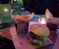 The DreamHack burger!
